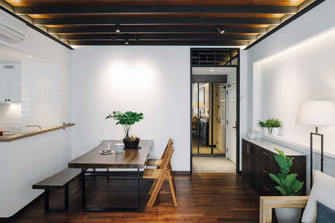 An apartment inspired by conservation shophouses | Lookboxliving