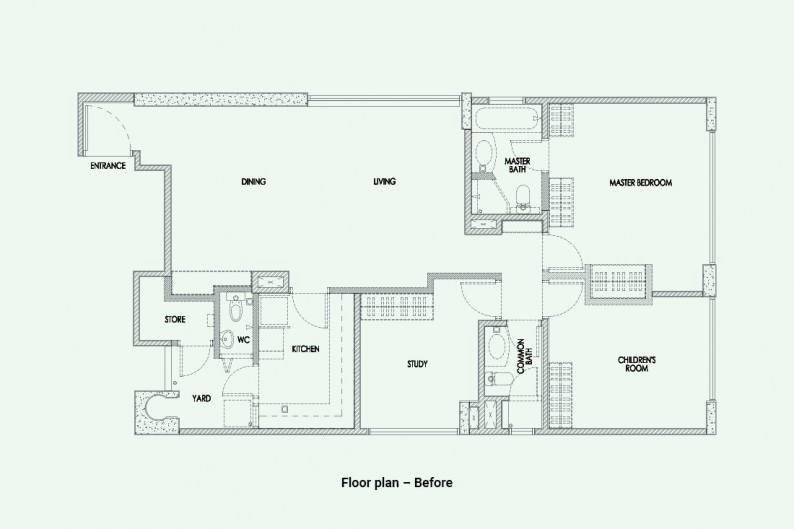 Akihaus_River Place_Plan_Before