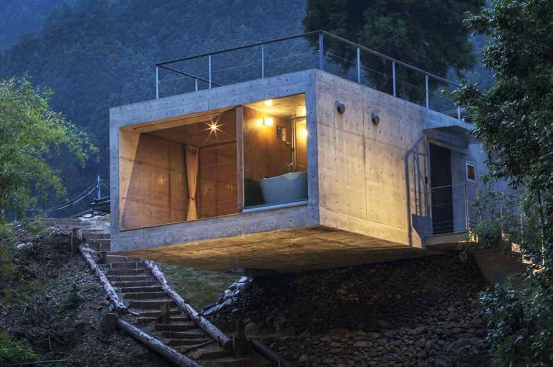 Mountain_Villa_Masato_Sekiya_exterior_night