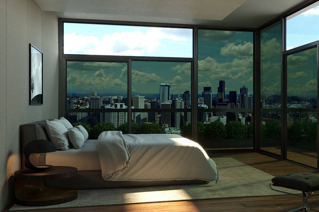 This smart tinting glass might make blinds and shades a for Smart window shades