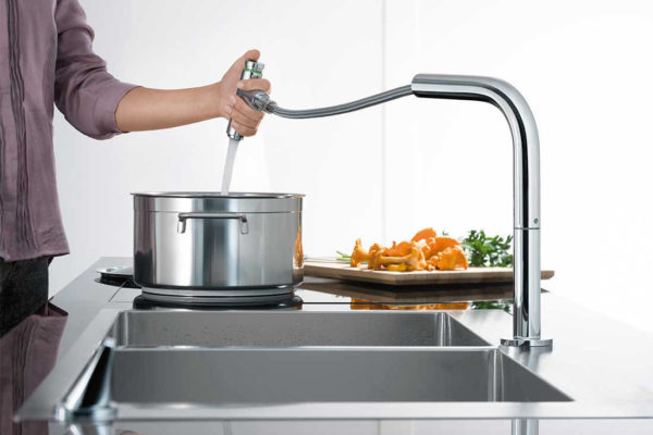 Transform your kitchen sink into the centrepiece of your kitchen
