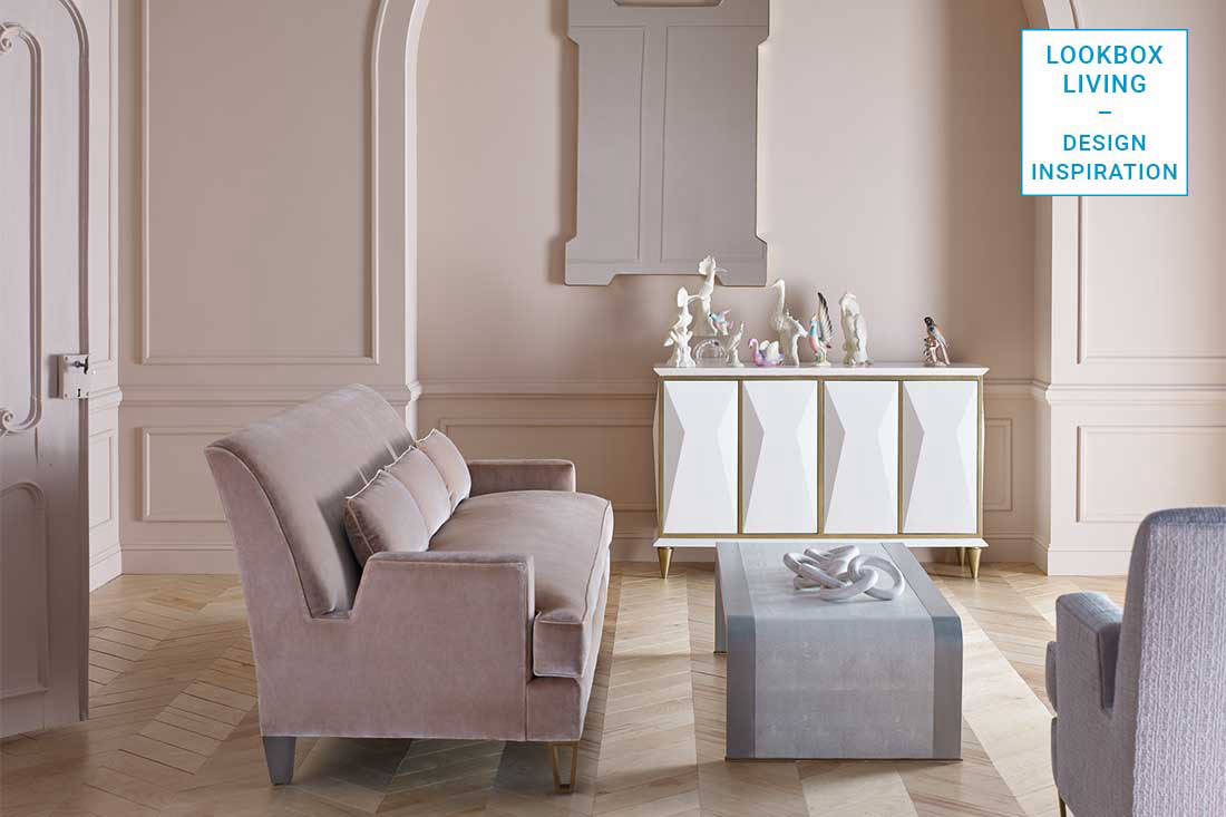Colour inspiration 3 ways to add mauve meets blush to your home