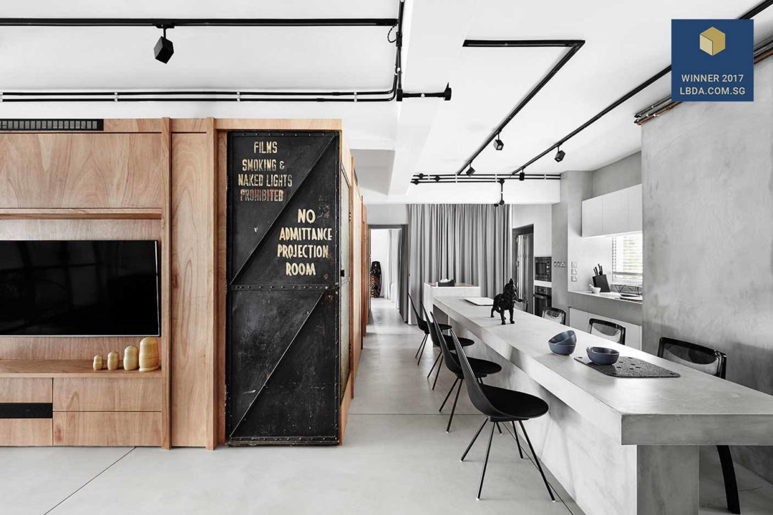 Home Of The Year The Most Talked About Flat In Singapore