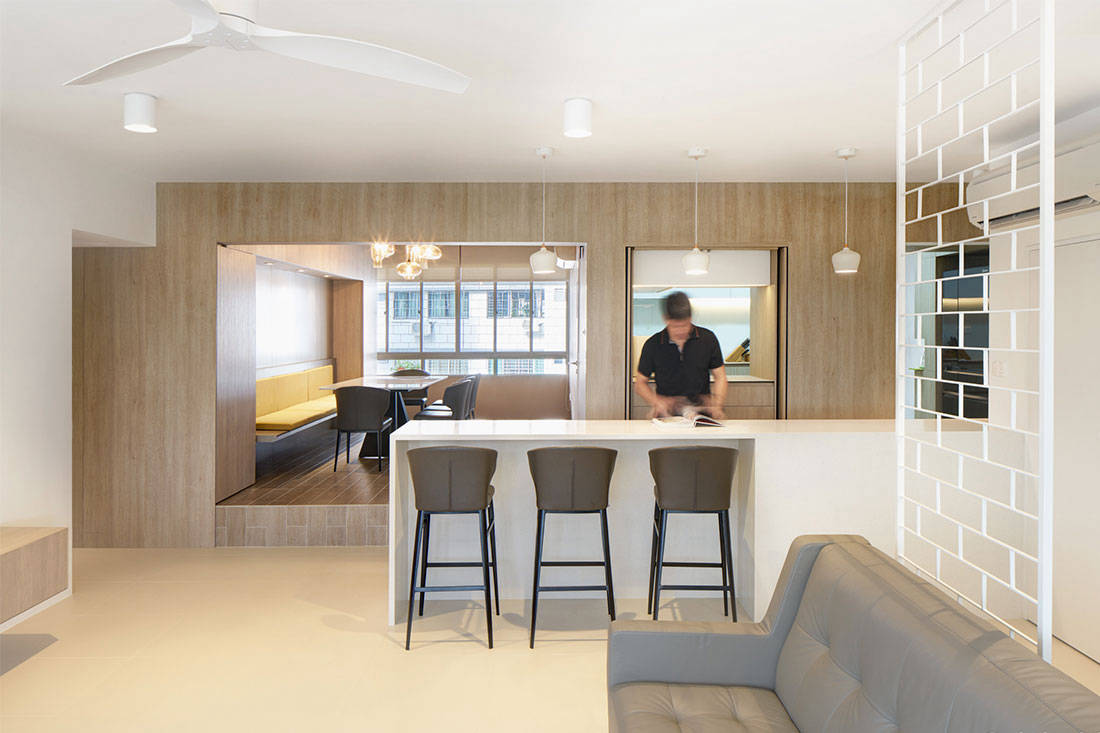 Giving The Couple Plenty Of Storage Space For Clutter Free Living Was One  Of Lukeu0027s Priorities. U201cWeu0027ve Designed Storage In Such A Way That It Looks  Like A ...