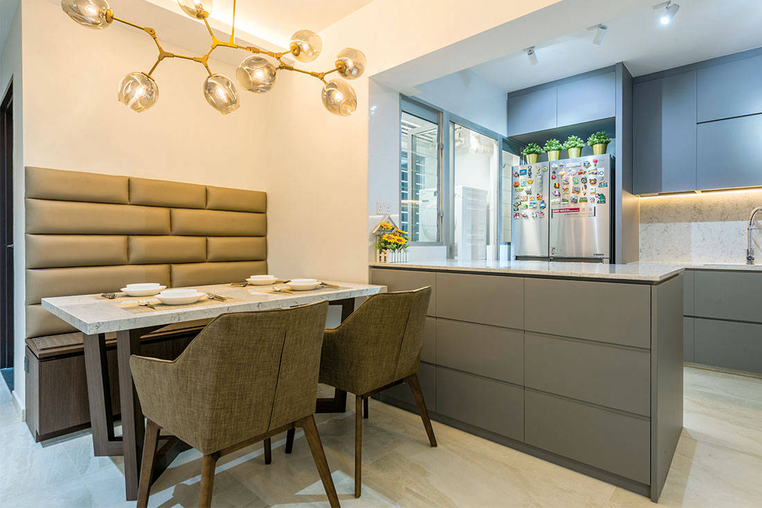 An Ordinary Hdb Flat Infused With Timeless Appeal Lookboxliving