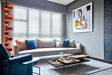 An HDB flat inspired by hip designer hotels