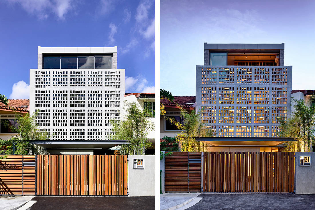 An Inter Terrace House Dressed In Bricks Lookboxliving