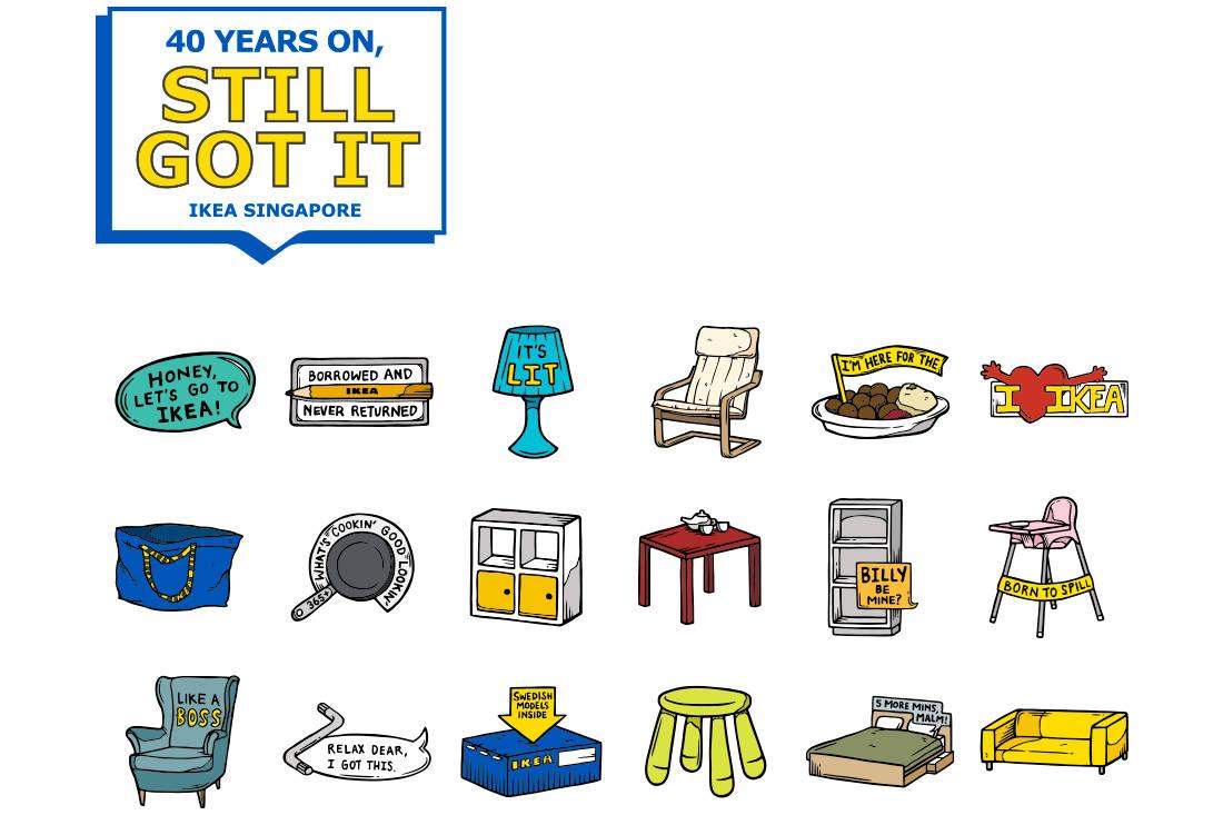 Win S$40 + cute pins: Because Ikea Singapore turns 40