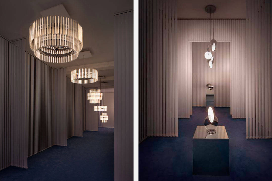 latest technology in lighting. \u201cI Wanted To Create A Celestial Collection Of Sculptural Lighting Which Is Progressive And Experimental Using The Latest LED Technology.\u201d Technology In