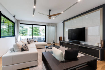 A clean and contemporary bungalow