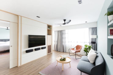 A bright resale HDB flat with a relaxed vibe