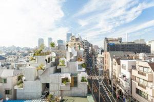 Tokyo treehouse residence
