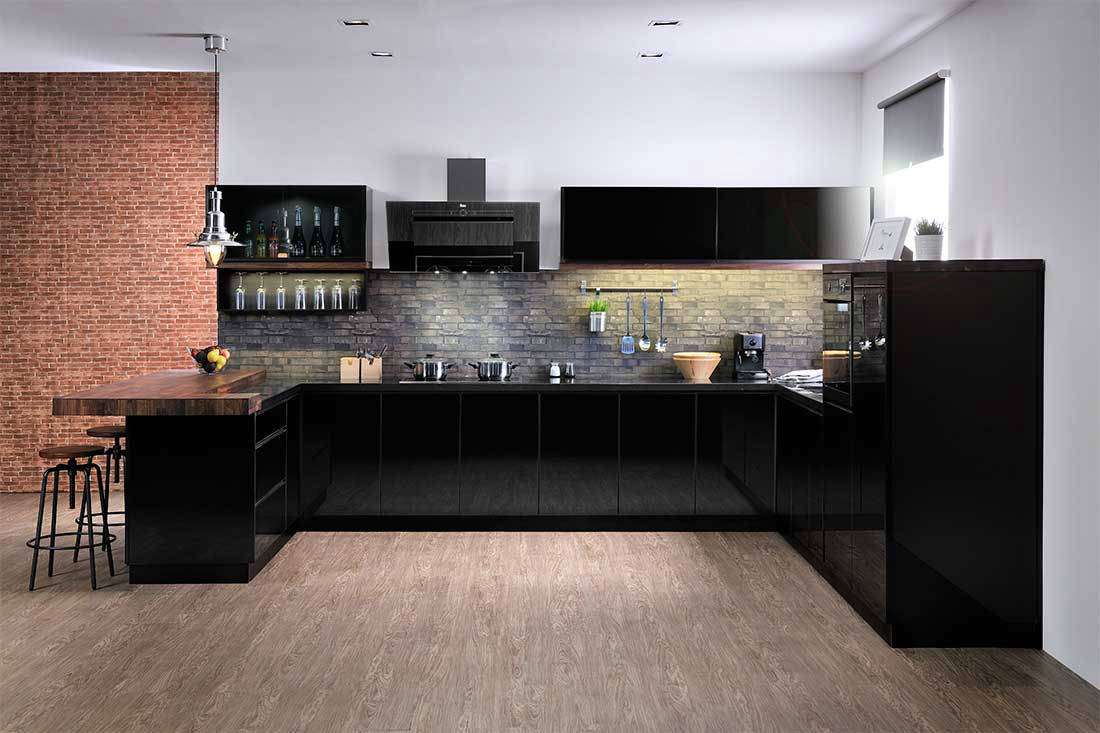 Alustil aluminium kitchen
