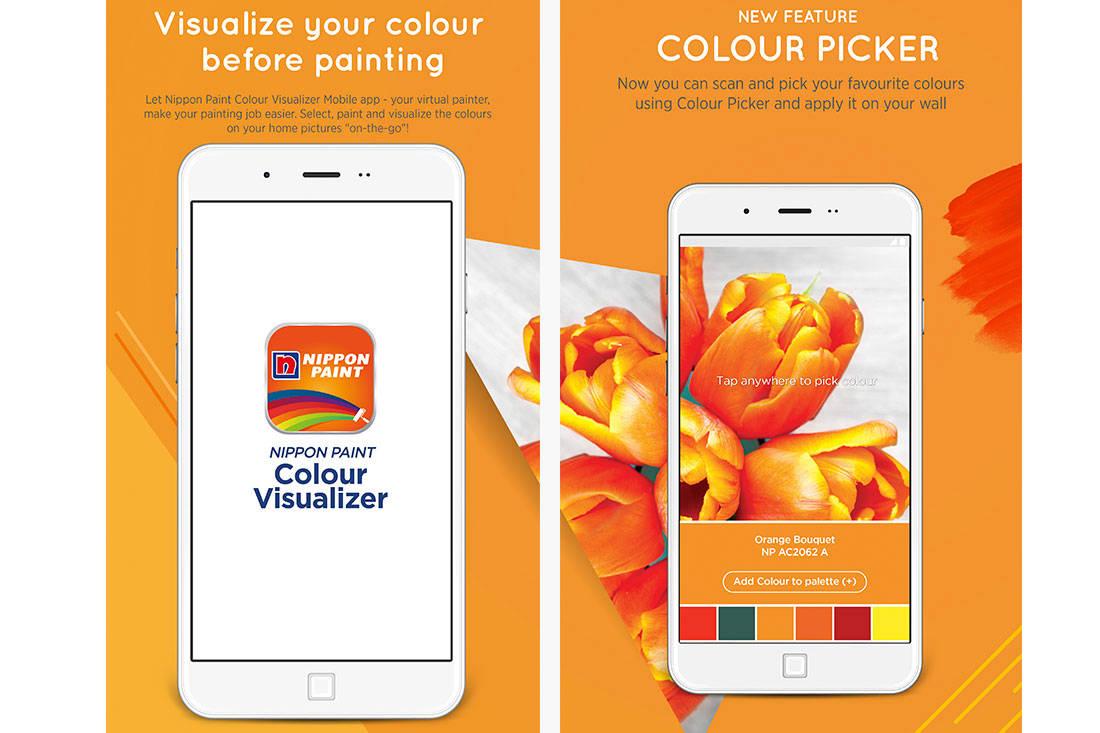 Nippon Paint Colour Visualiser