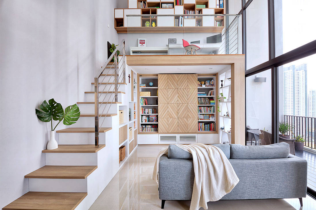 5 great loft ideas! Learn how to maximise that vertical space