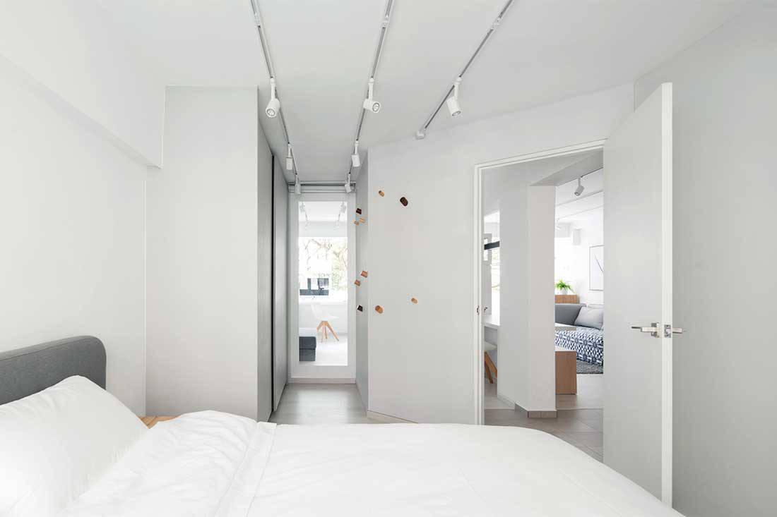 3 Room Flat bringing maximum efficiency to a 700sqft hdb flat