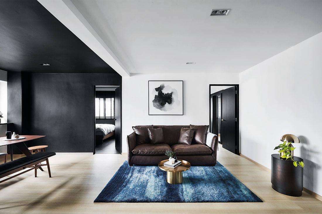 A Minimalist Resale Flat In Black Lookboxliving