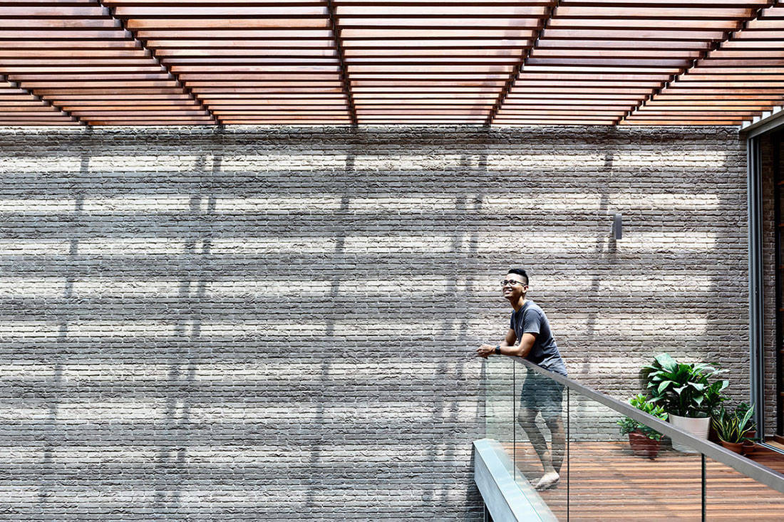 courtyard house hyla architects