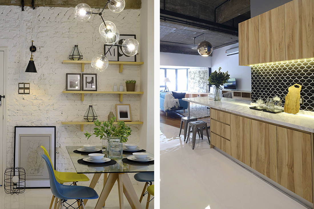 Crazy Rich Asians Henry Golding KL home kitchen and dining area