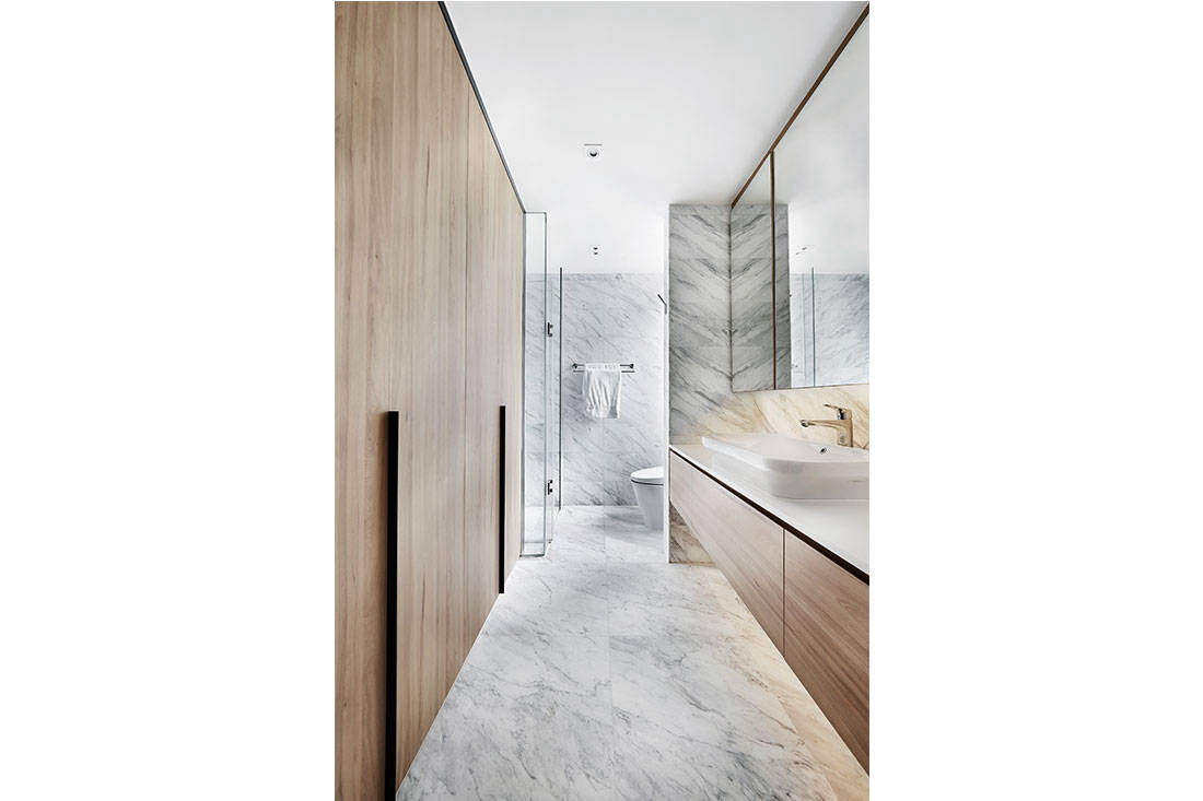 storage solutions Design Zage apartment bathroom