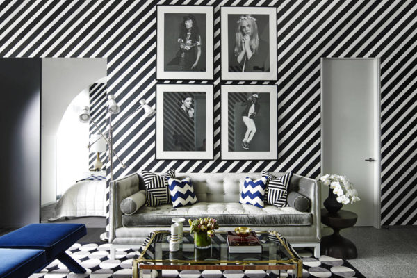 Greg Natale Fitzroy apartment bold design in a small space
