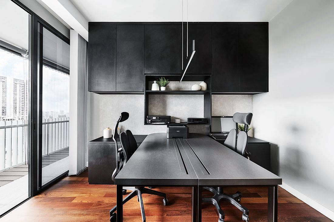 storage solutions Design Zage apartment study