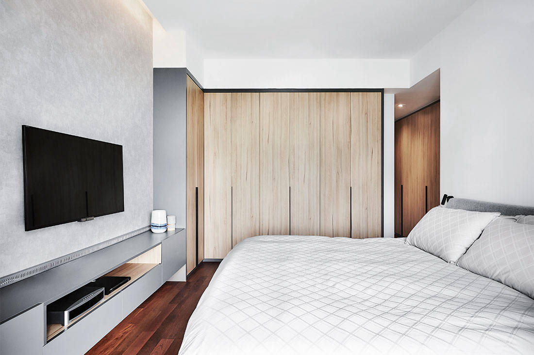 storage solutions Design Zage apartment bedroom