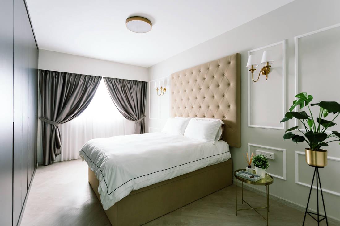 93B Telok Blangah HDB master bedroom designed by D' Initial Concept.jpg
