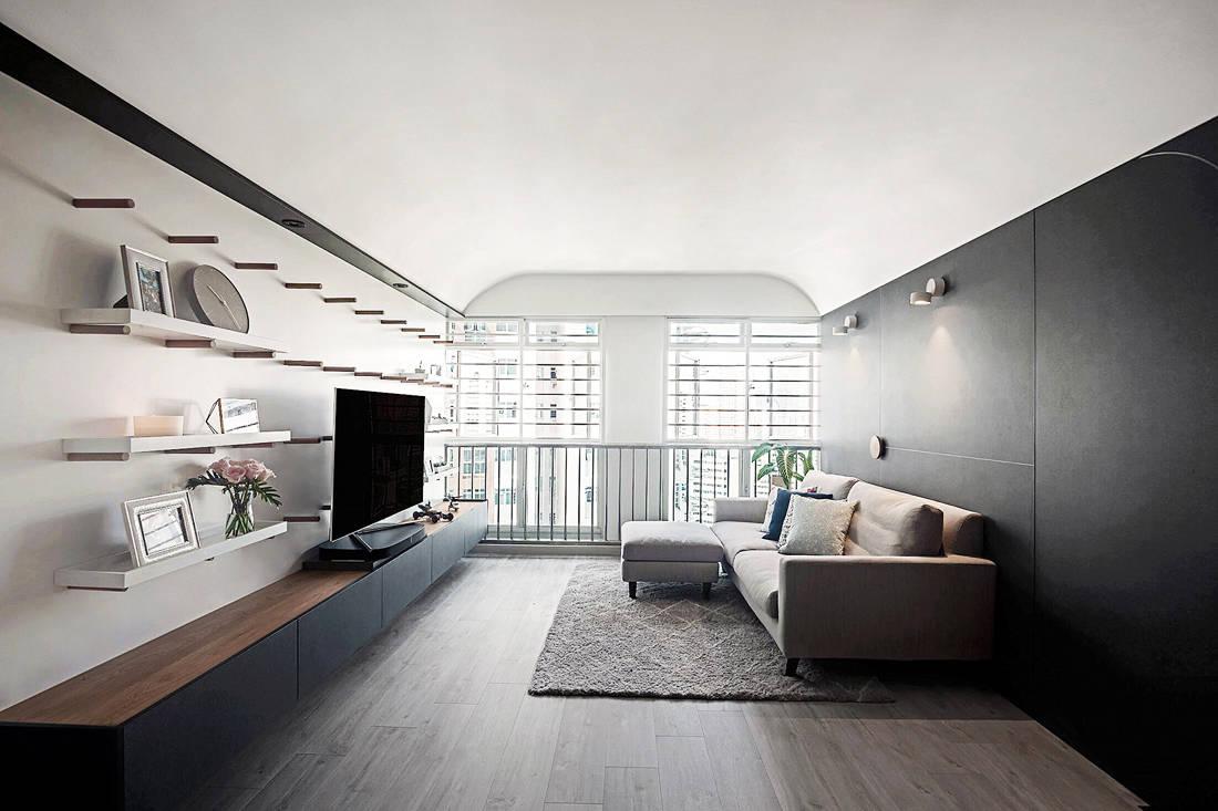 HDB flats UNO Interior Rekindly by Uno living room