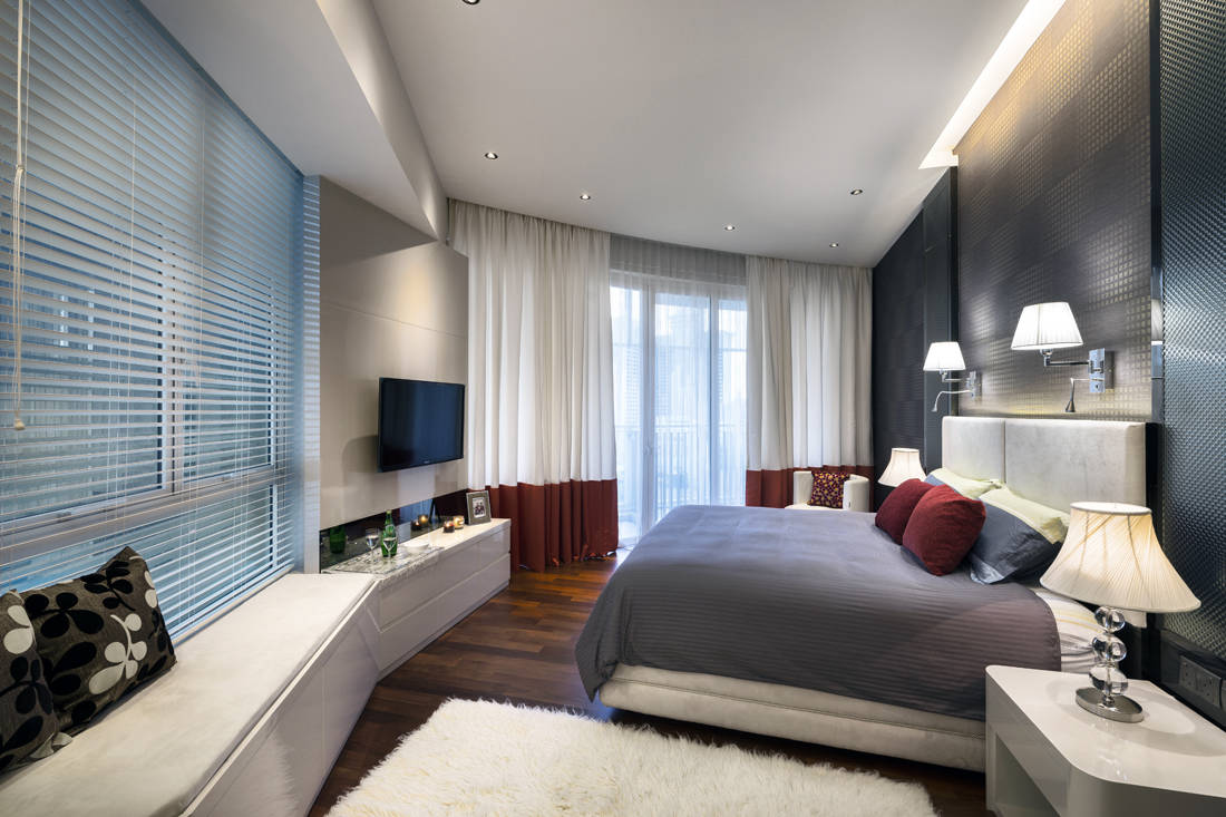 St Thomas Ultimate Interior Creation custom touches in master bedroom