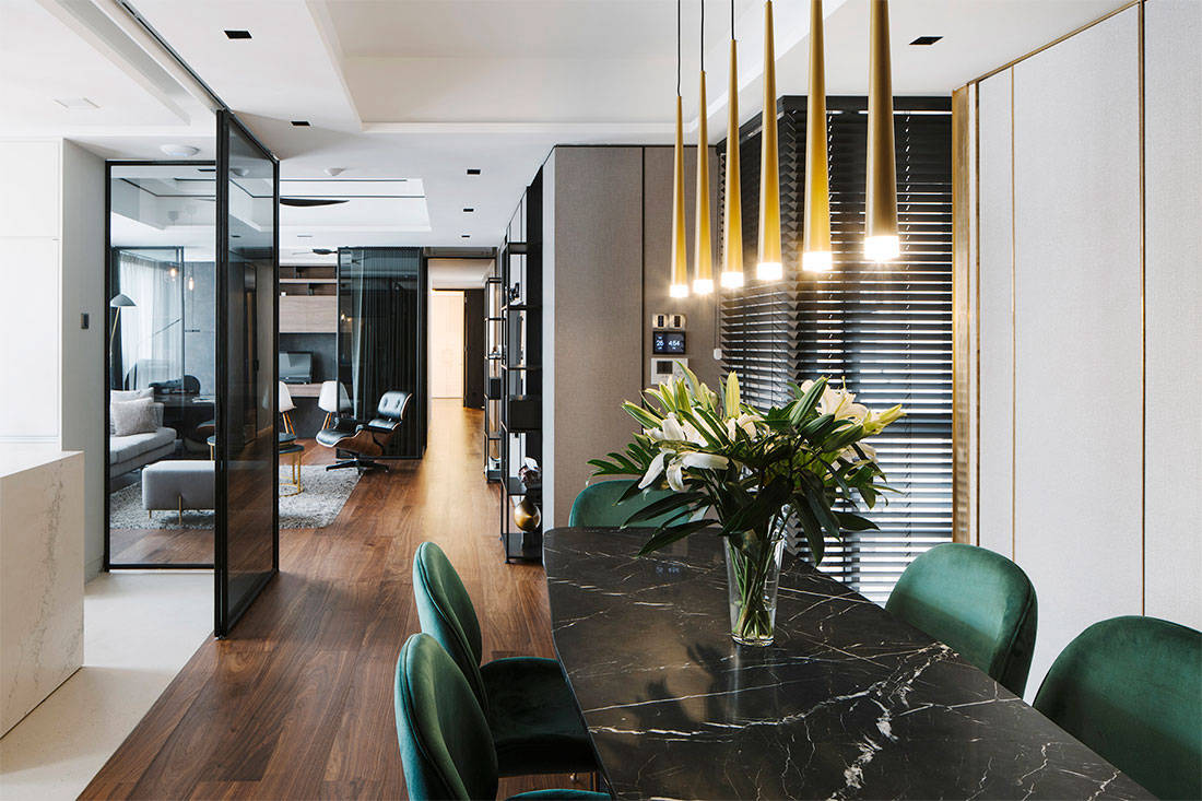 LBDA 2018 shortlist for outstanding private apartment LAANK The Living Hotel