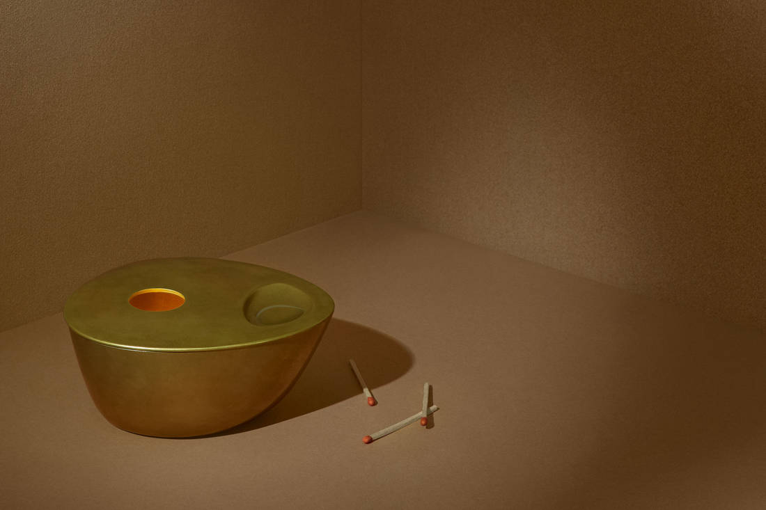 best housewarming gifts - Aesop Brass Oil Burner