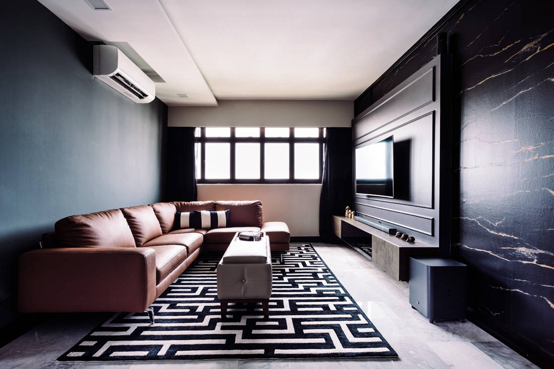 D' Initial Concept Geylang Bahru HDB flat living area unconventional home