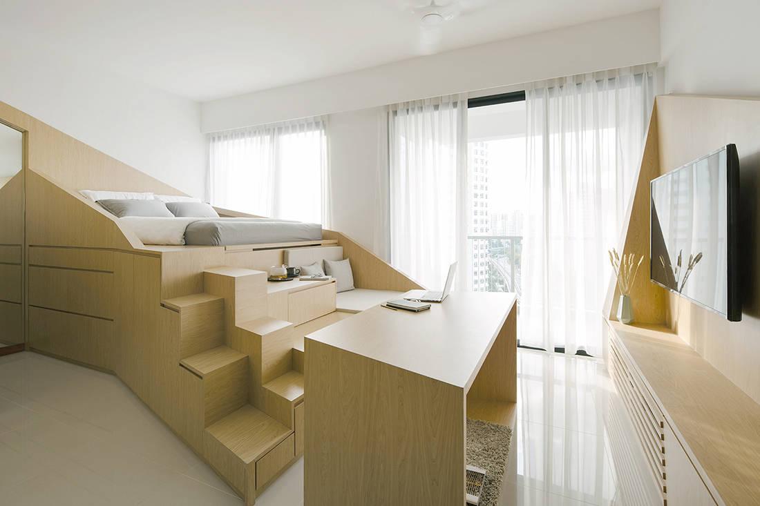 LBDA 2018 shortlist METRE Architects Hillion Residences entertaining space