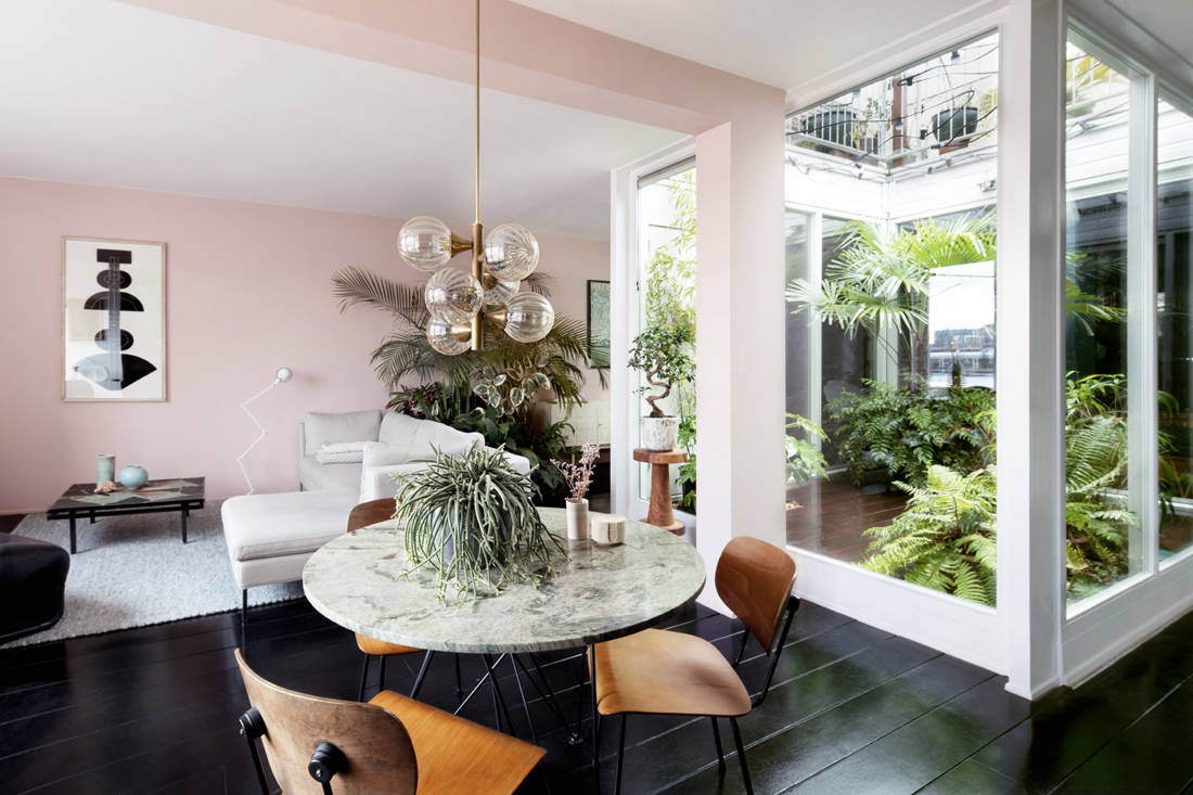 Lookbox Living Luxe issue home of Julien Rademaker and Maaike Chanowski in Amsterdam
