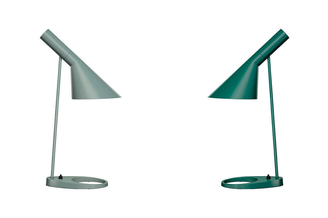 Louis Poulsen quality of light AJ Table17 Petroleum Dark Green