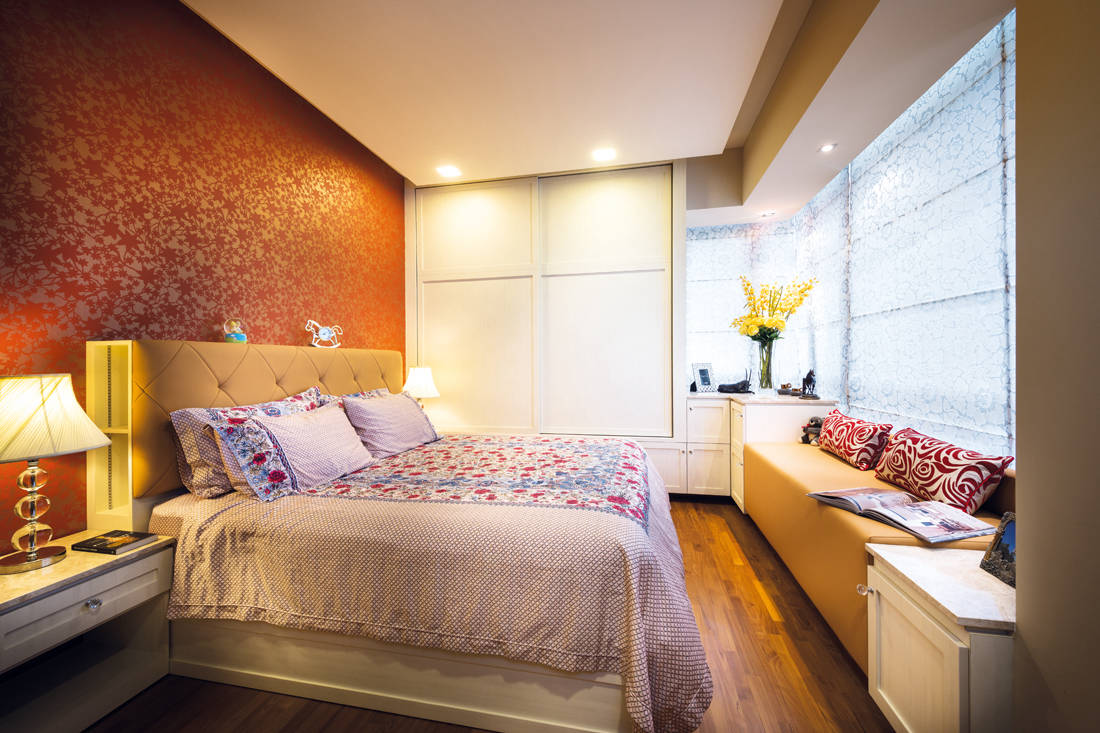 Ultimate Interior Creation Ascentia bedroom - condo with practicality