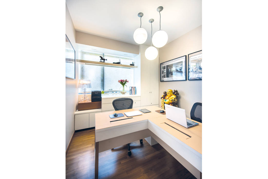 Ultimate Interior Creation Ascentia study - condo with practicality