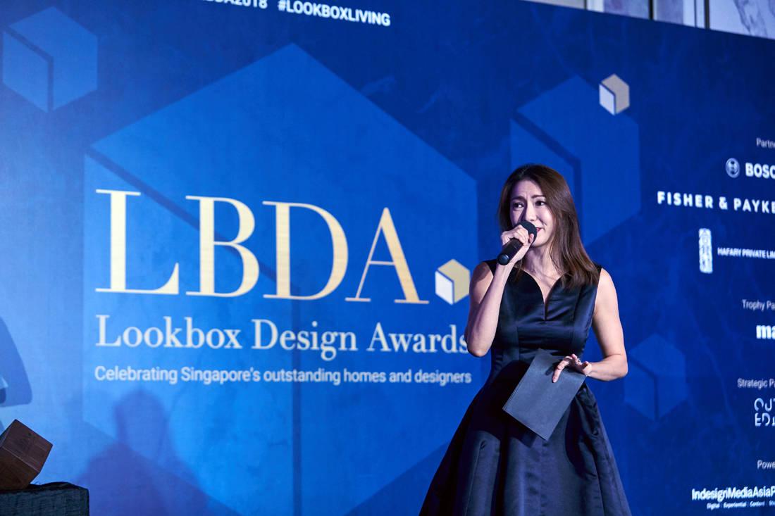 Chew Soo Wei emcee at LBDA 2018 Gala Night