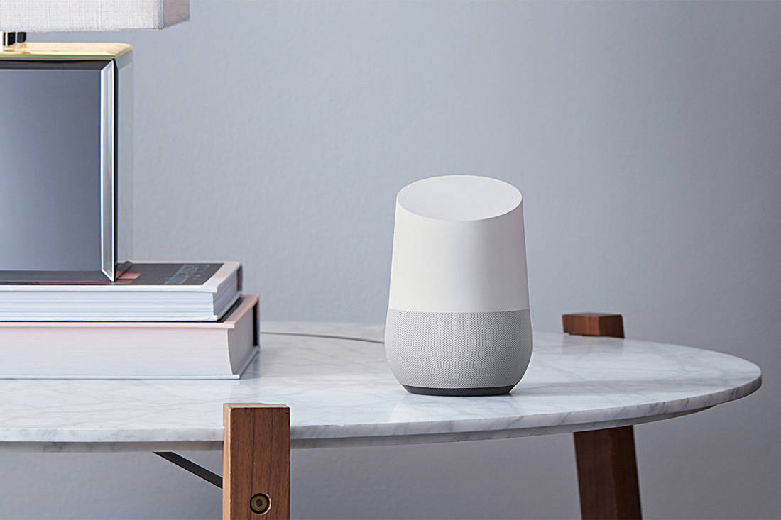 Google Home - smart home devices