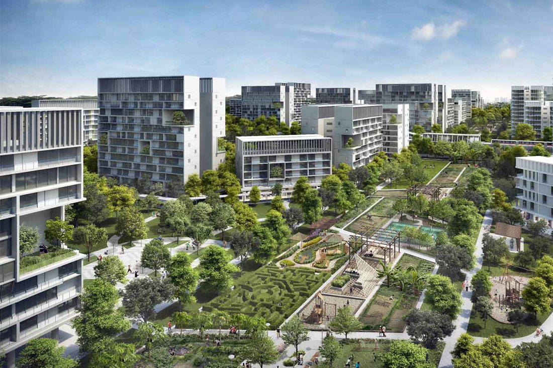 Lookbox Living top 10 most read stories of 2018 - HDB housing district in Tengah with farm features