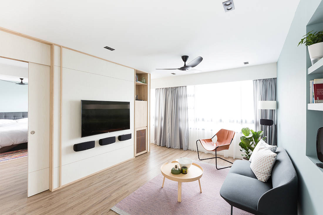 Lookbox Living top 10 most read stories of 2018 - bright resale HDB flat by Artistroom