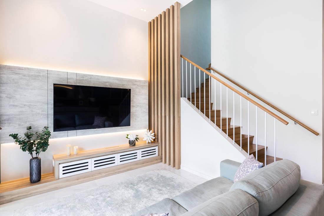 M Atelier Waterfront @ Faber Scandinavian living area