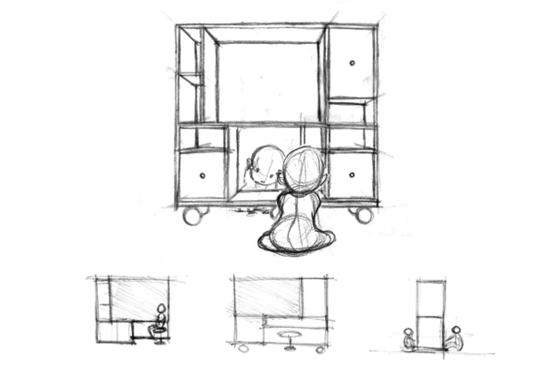 Montana x P5 Studio Freeplay - The Carpenter's Workshop design sketch