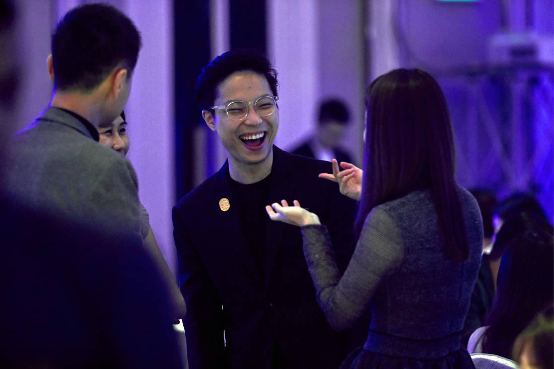 Ryan Tan (OuterEdit) at LBDA 2018 Gala Night