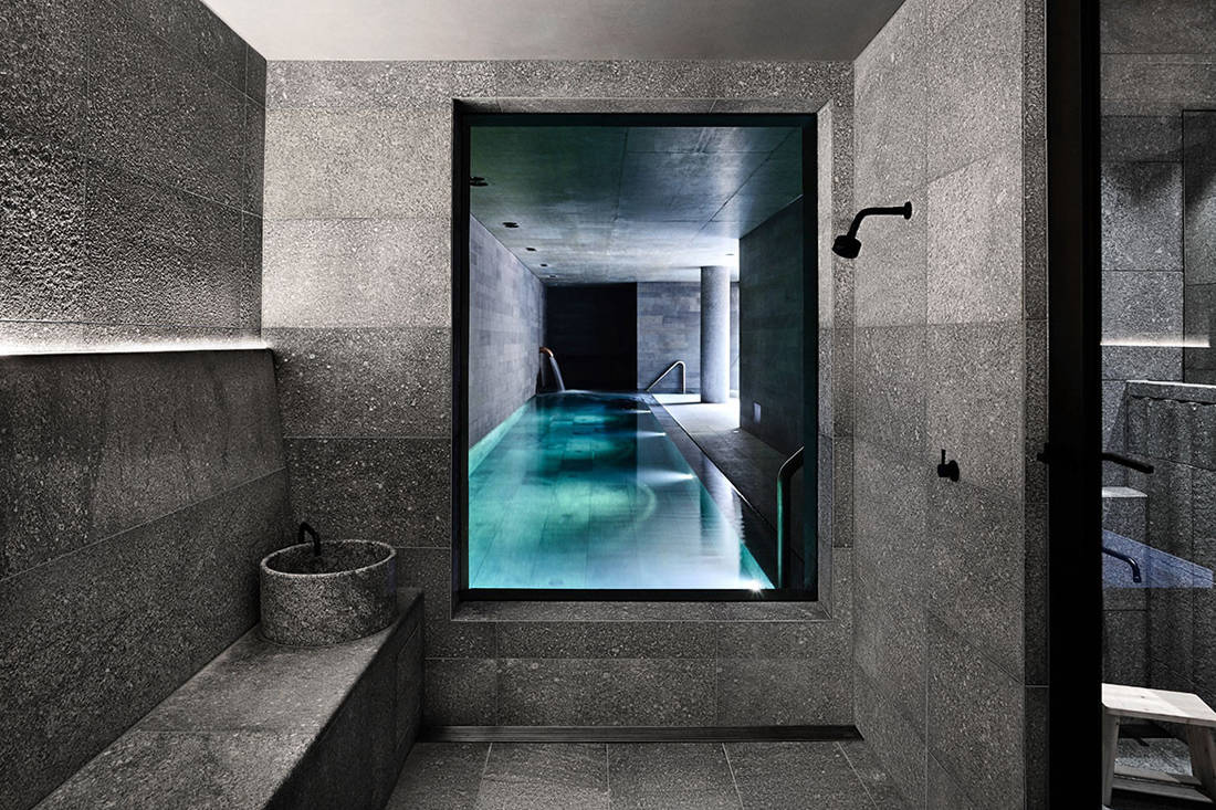 St Vincents Place onsen by B.E. Architecture