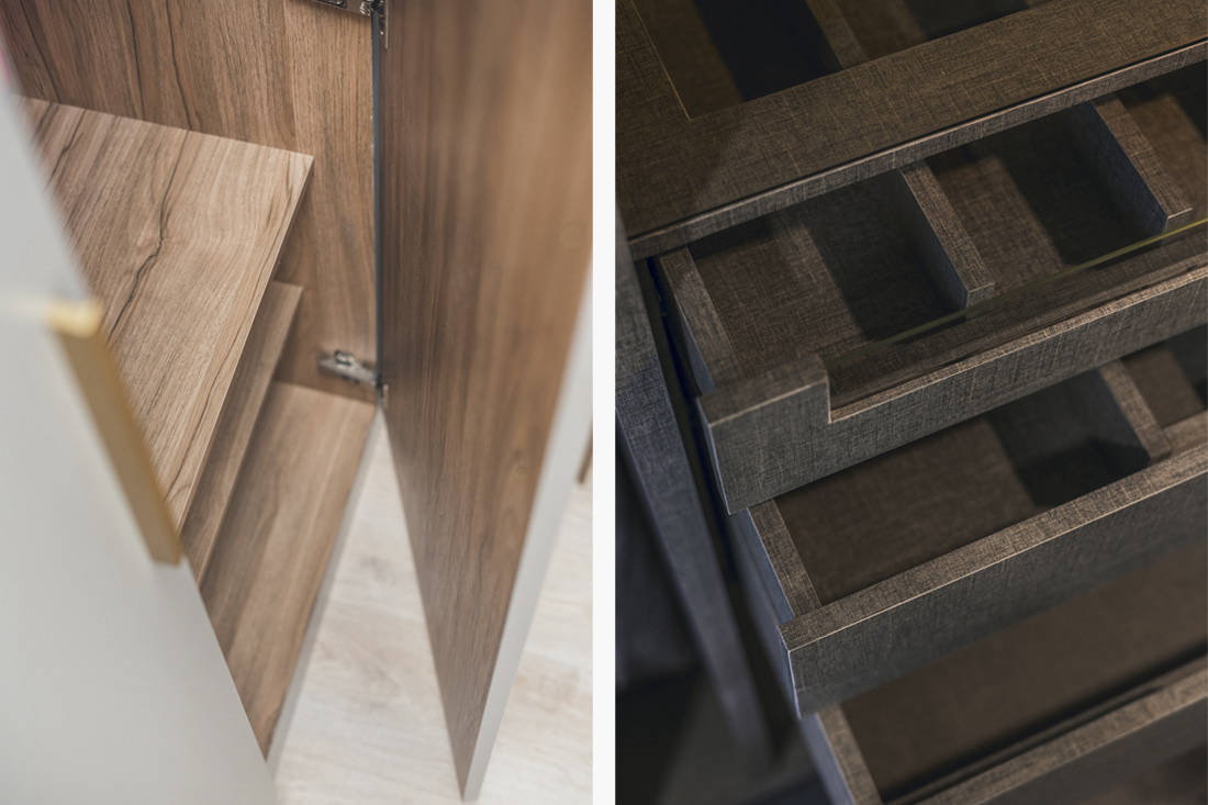 Archive Design custom carpentry details and finishing