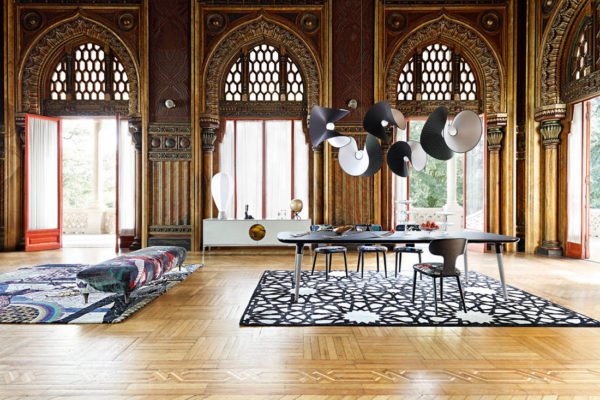 French high-end furniture brand Roche Bobois Globe Trotter collection by Marcel Wanders