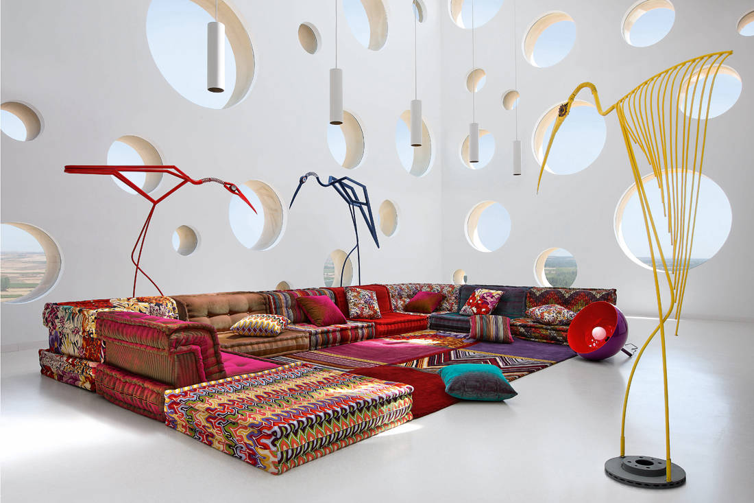 French high-end furniture brand Roche Bobois Mah Jong