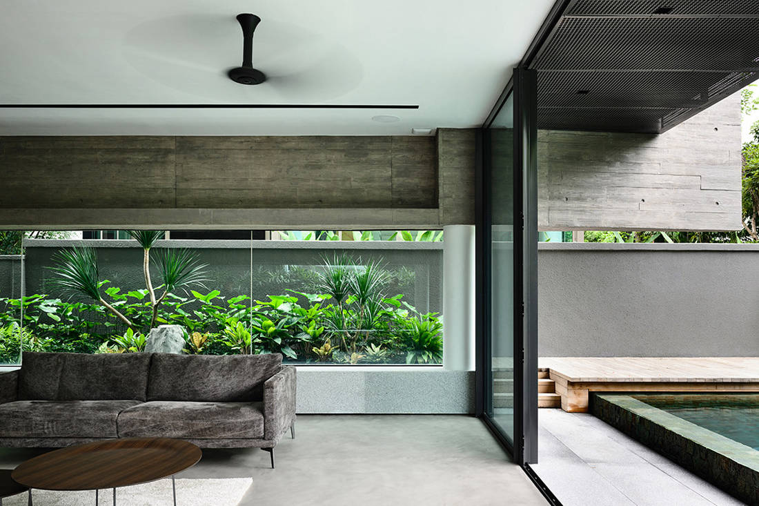 Ong & Ong Faber Hill Singapore nature living space and pool